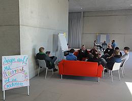 Arbeitsgruppe im open space